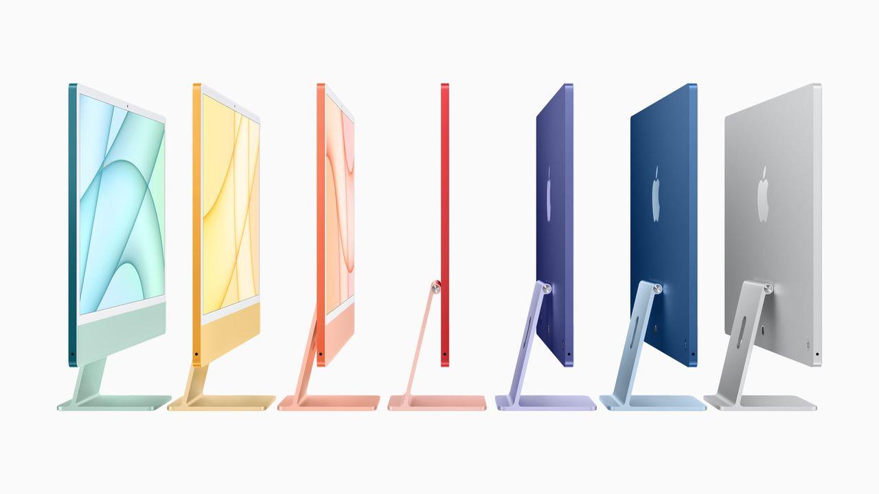 Apple presenterar helt ny iMac