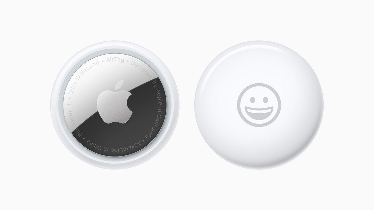 Apple presenterar Airtags