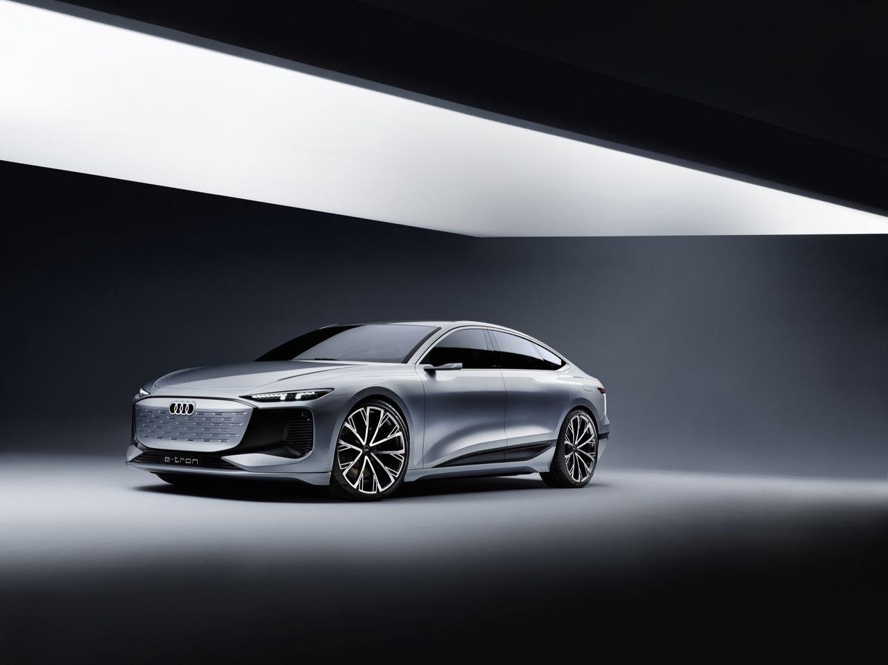 Audi A6 e-tron blir inte första bilen på nya PPE-plattformen