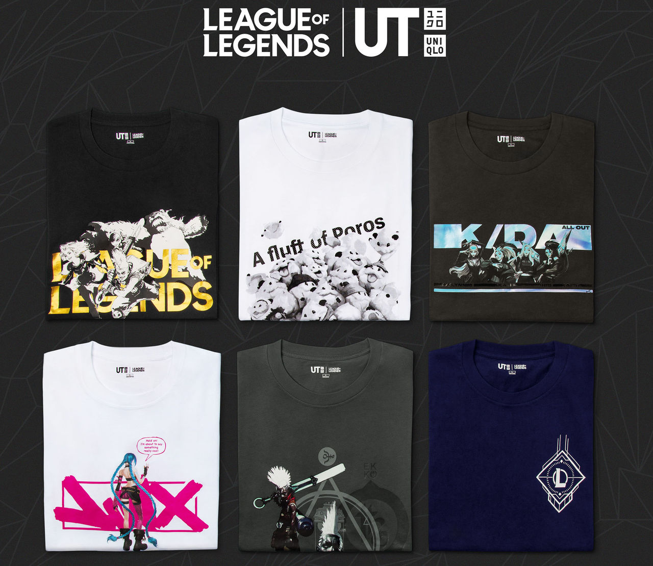 UNIQLO släpper League of Legends-kläder