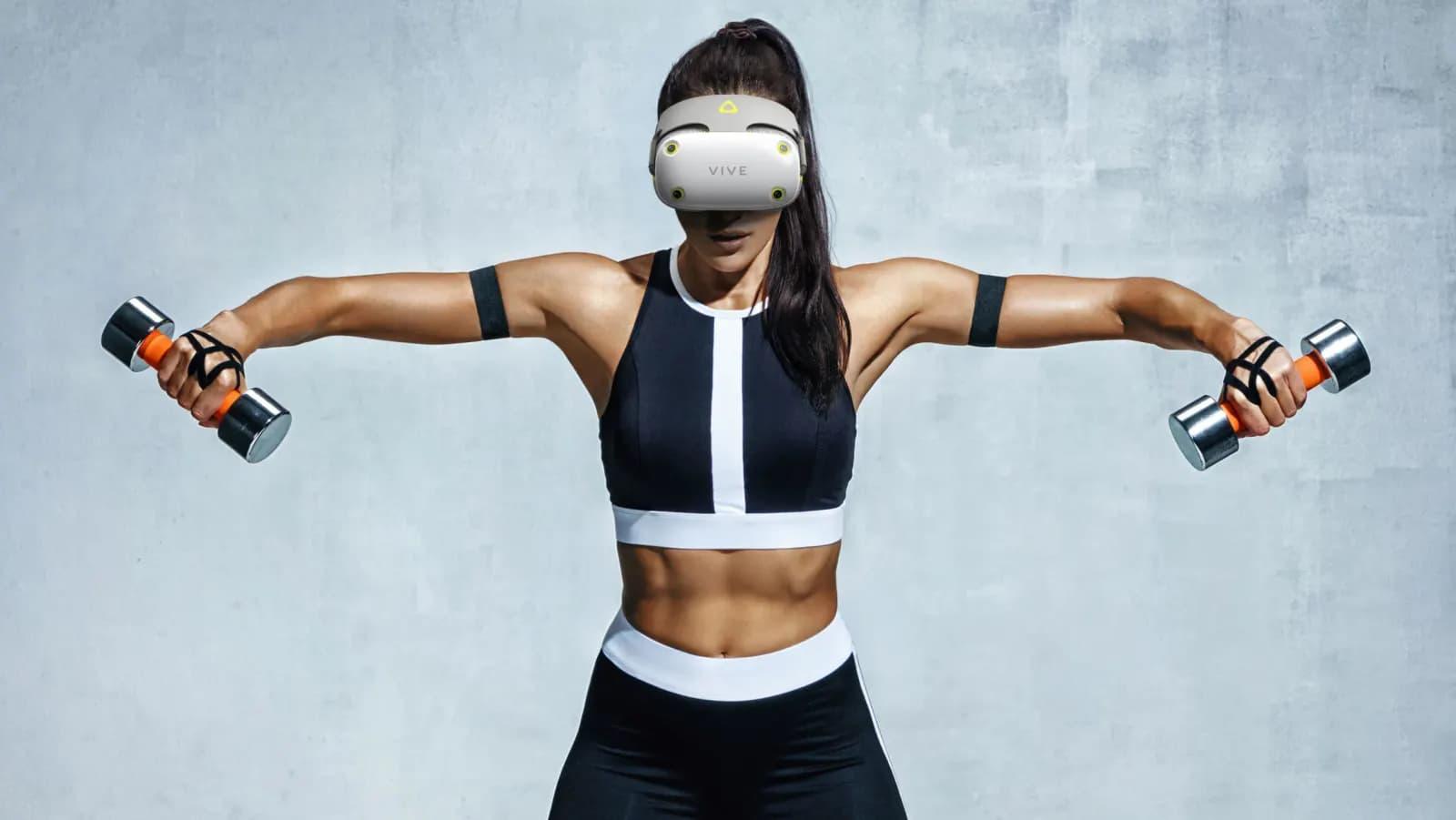 Nytt VR-headset från HTC verkar ha läckt ut Konceptet Vive Air har VR-träning i fokus