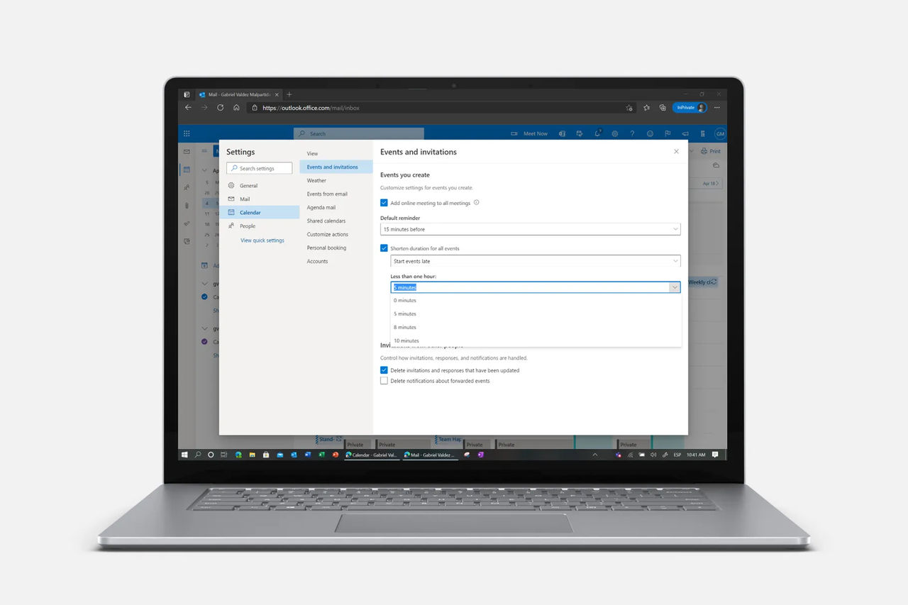 Outlook får pausfunktion för möten