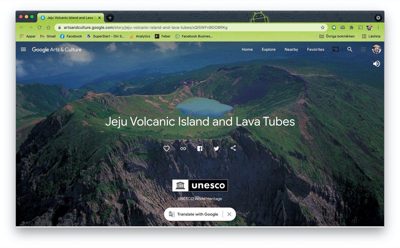 Kolla in några av UNESCO:s världsarv på Google Arts & Culture