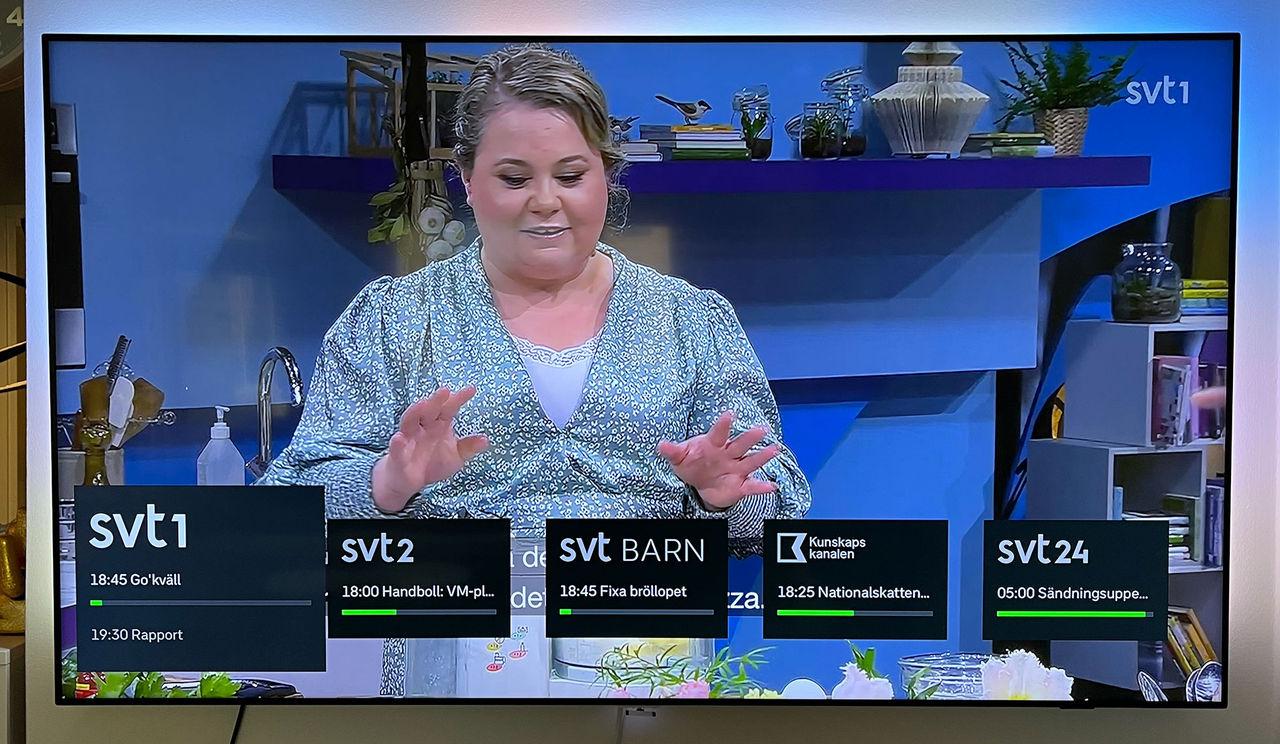 Nu finns SVTs kanaler på Apple TV