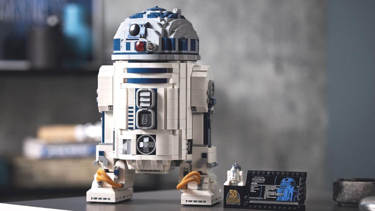 Lego släpper R2-D2 som byggsats