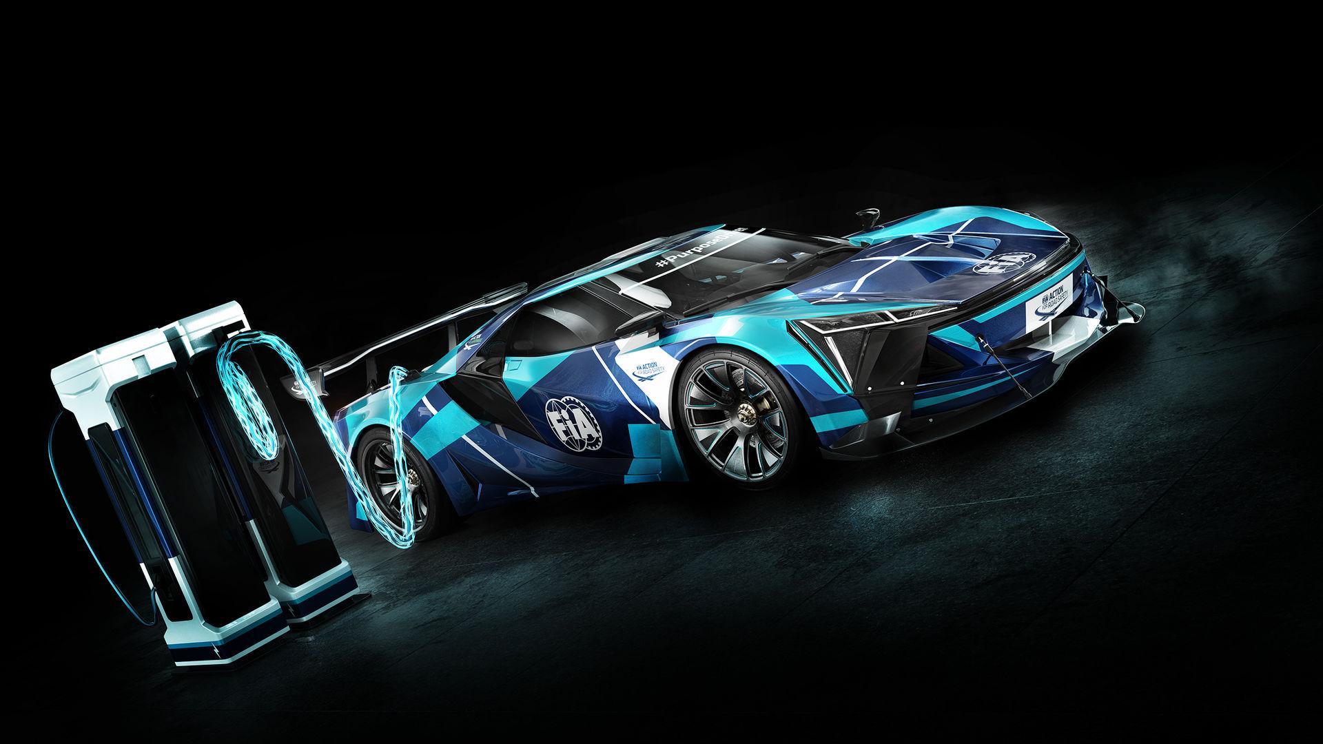 FIA presenterar ny racingliga för elektriska GT-bilar