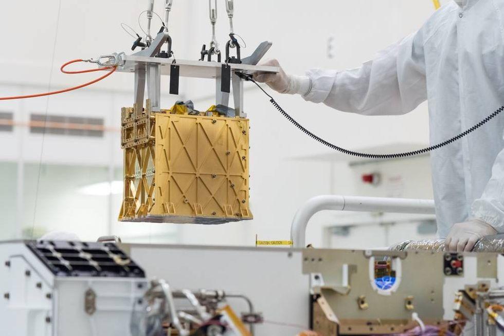 Perseverance har skapat syre på Mars