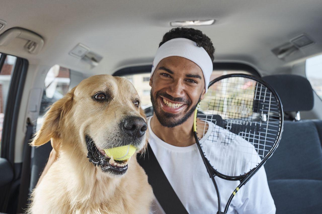 Nu får djuren följa med i Uber