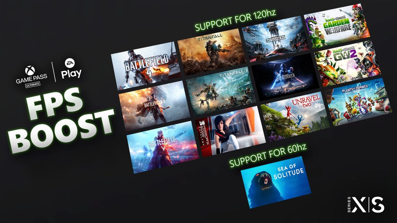 Microsoft erbjuder FPS Boost för EA-spel