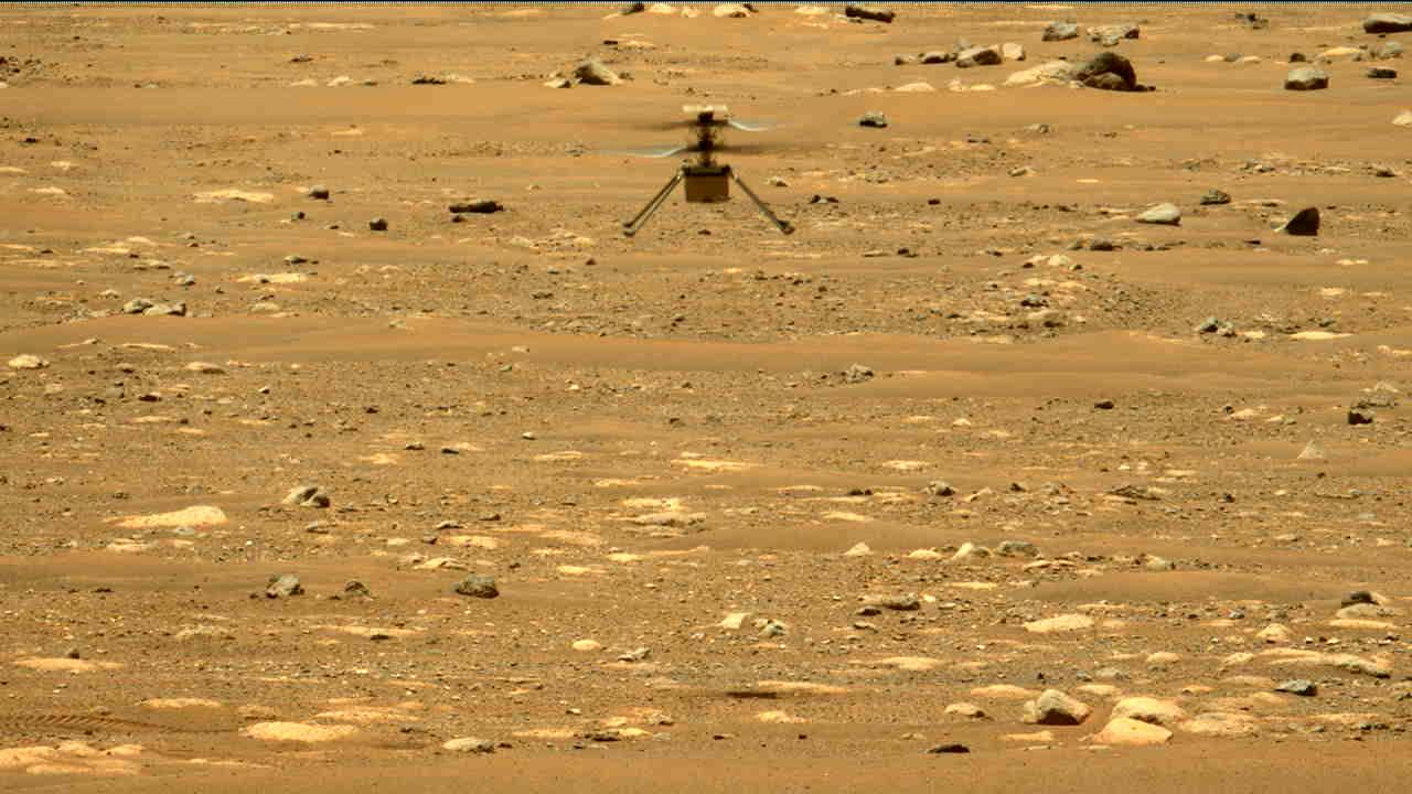 NASA:s Mars-helikopter har flugit för andra gången