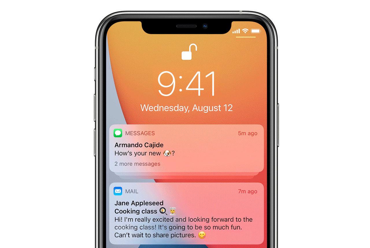 Stora förändringar i notifikationer för iOS 15