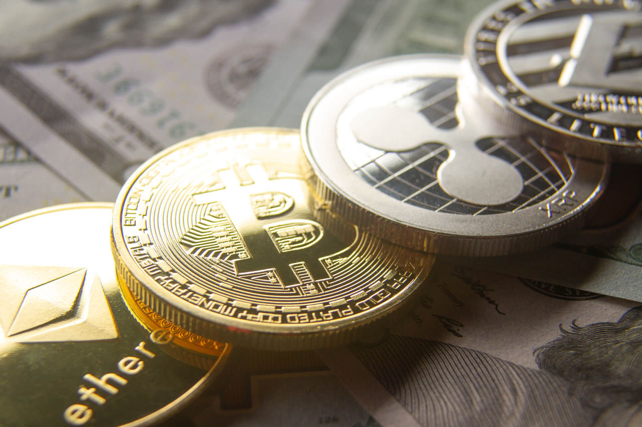 Kryptovalutor rasar på bred front