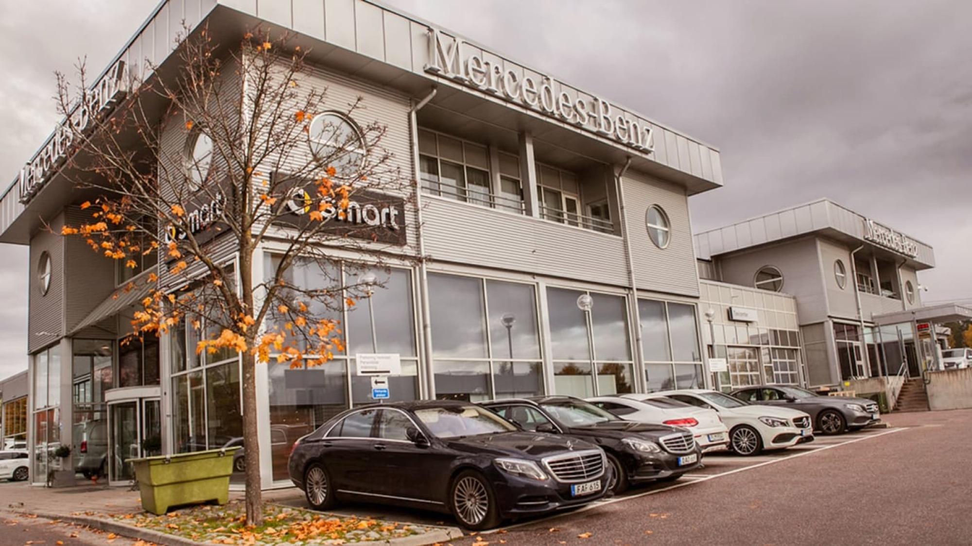 Bilia köper resterna av Upplands Motor Blir återförsäljare av Mercedes-Benz
