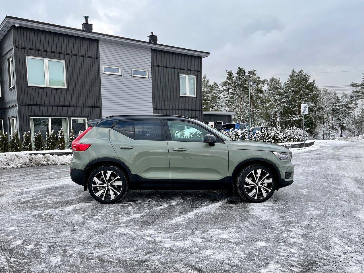 Volvo sänker priset på XC40 som elbil