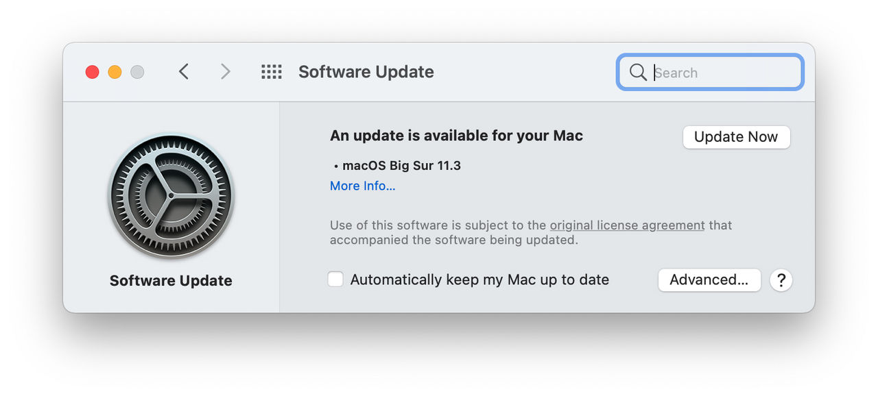 Apple släpper macOS Big Sur 11.3