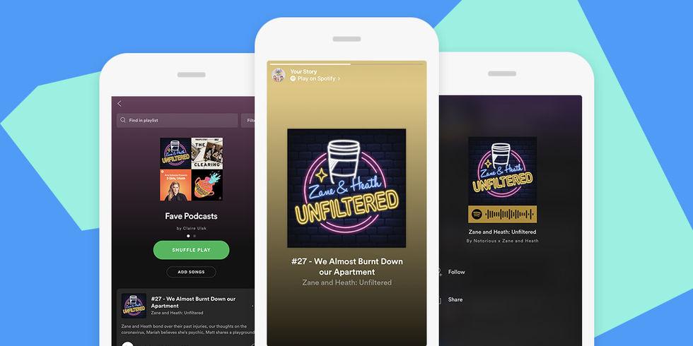 Spotify ryktas dra igång podcast-prenumerationer