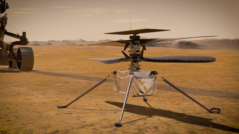 Svenska Oxeon har gjort tyg till Mars-helikopters rotorblad