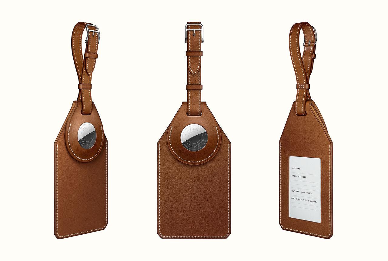 Hermès säljer en bagagebricka med Airtag