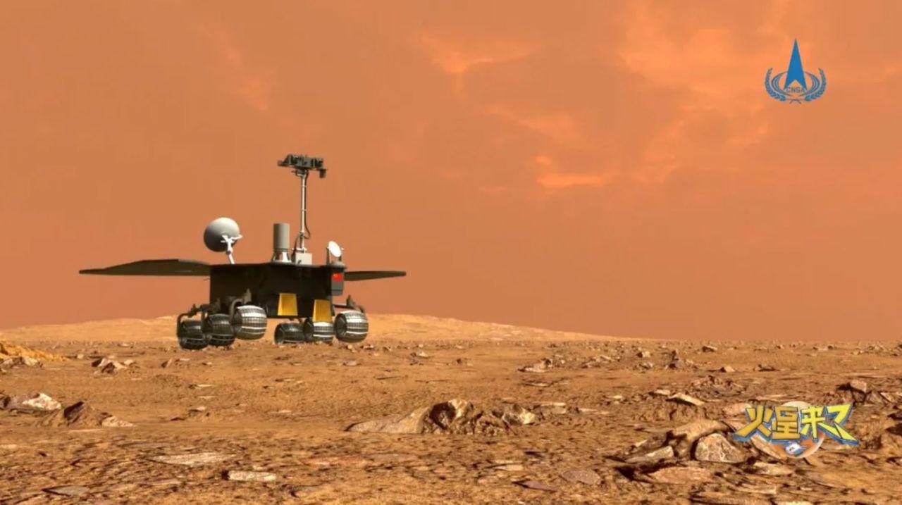 Kina gör sin första Mars-landning nästa månad