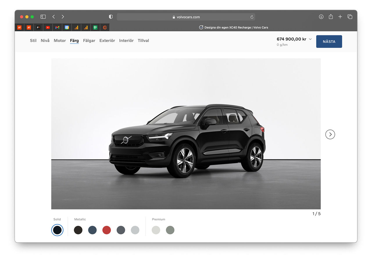 Nu går det att köpa en Volvo online