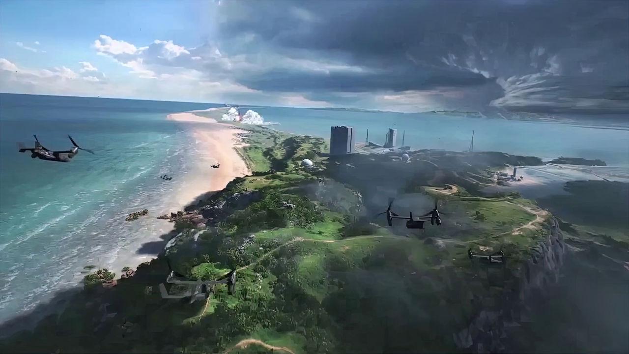 Bilder som påstås vara från Battlefield 6