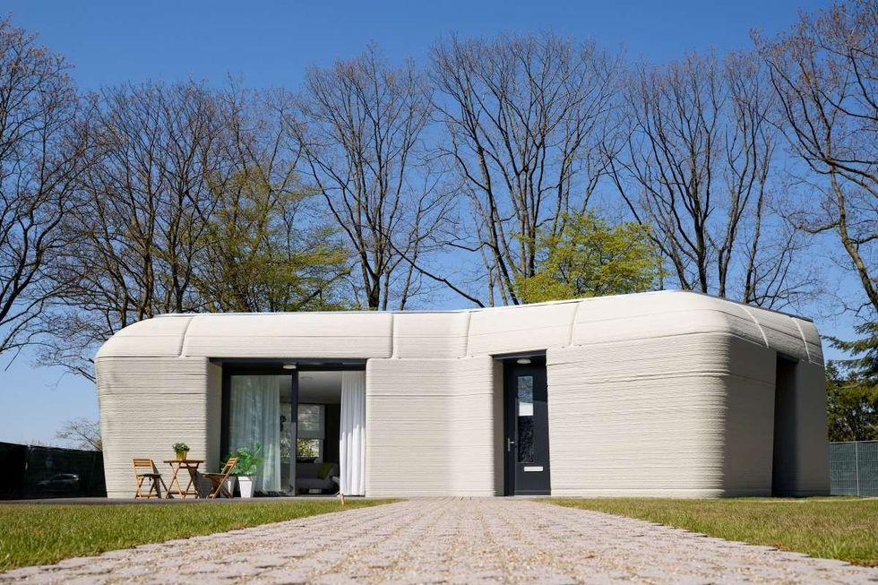 Kolla in Europas första 3D-utskrivna bostadshus