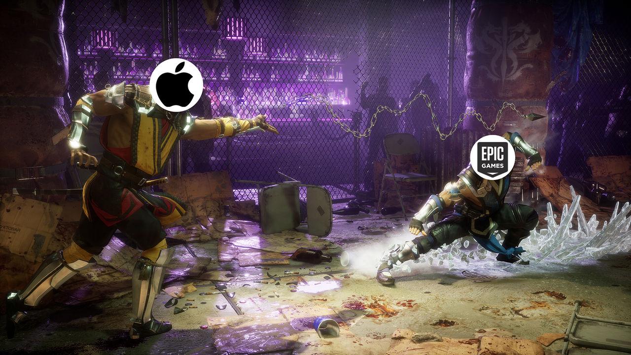 Striden mellan Apple och Epic har nu dragit igång