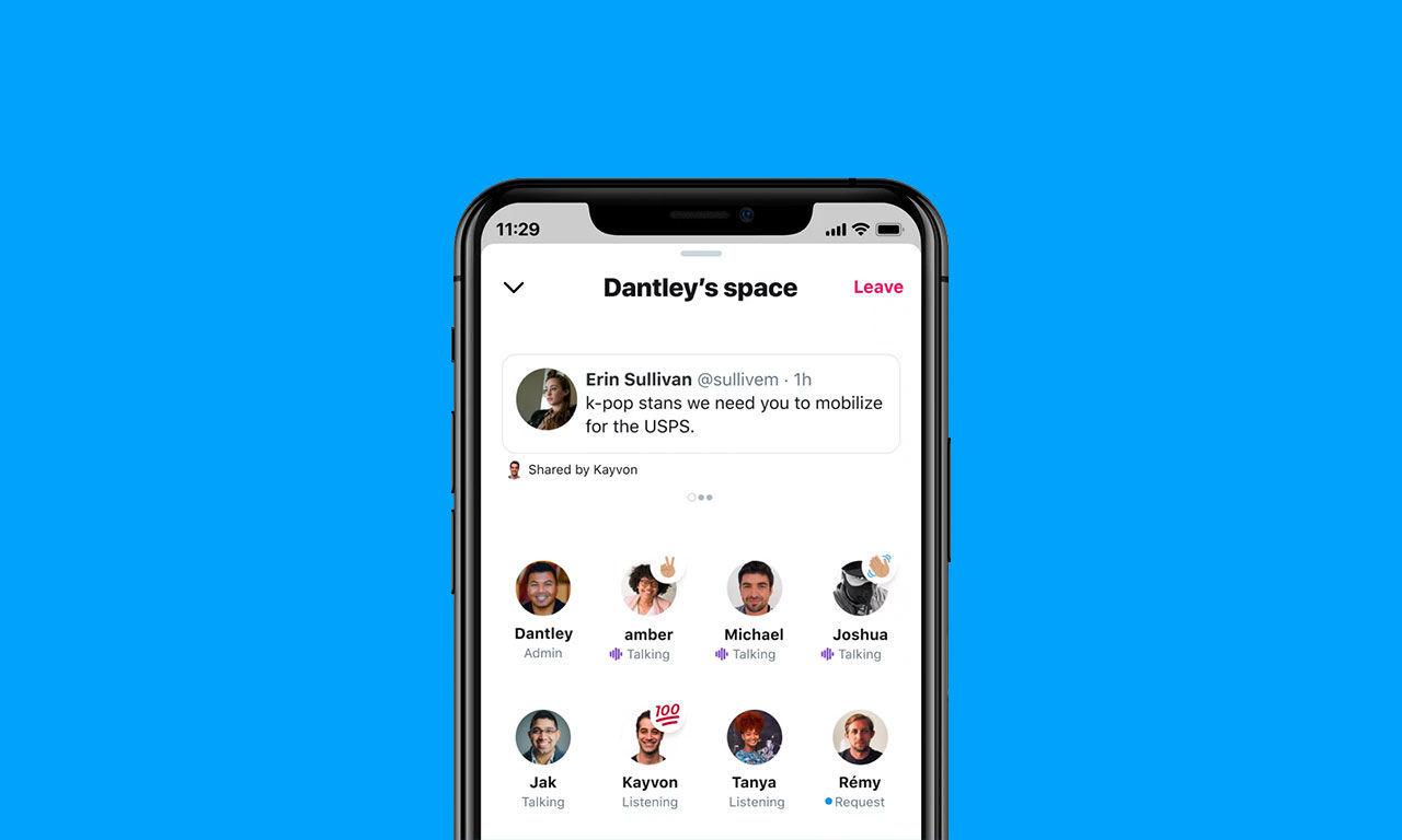 Twitter öppna upp Spaces för fler användare