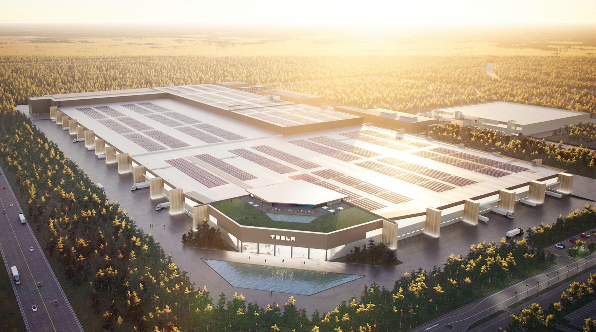Teslas fabrik i Tyskland startar först nästa år Batterifabriken försenad