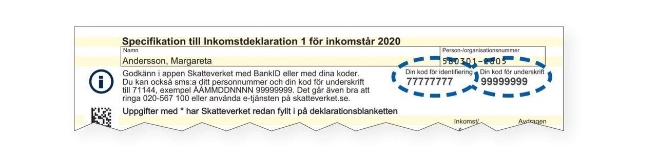6,7 miljoner svenskar deklarerade digitalt i år