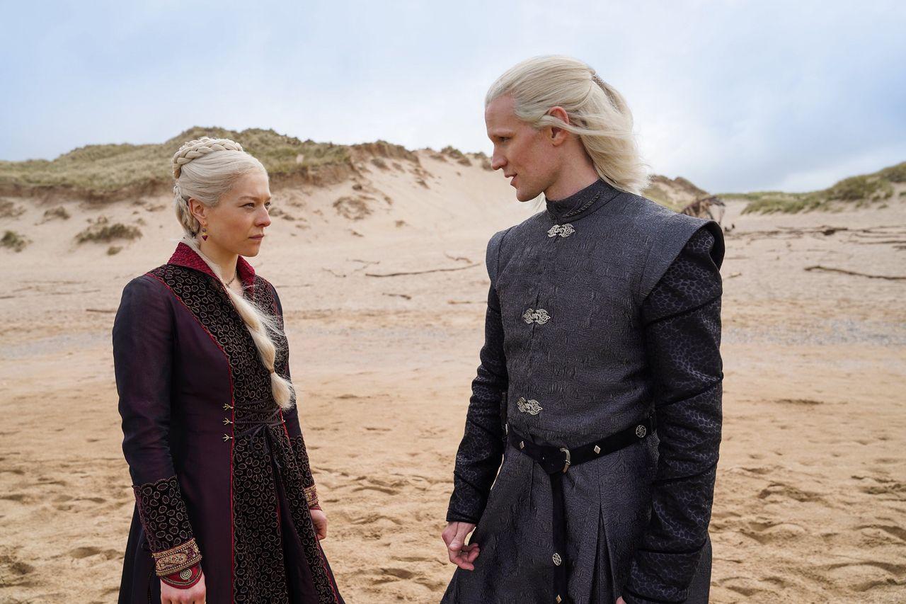 HBO släpper första bilderna från House of the Dragon