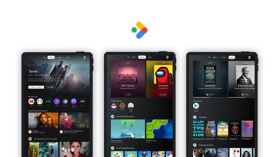 Google presenterar Entertainment Space