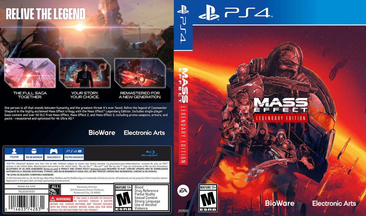 EA visar prestandadata för Mass Effect: Legendary Edition