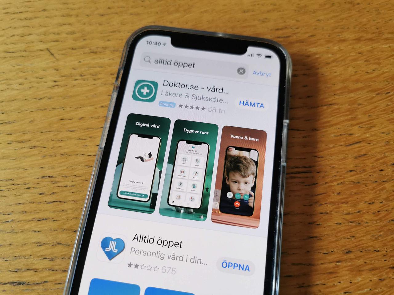 Apple trycker in mer annonser i App Store