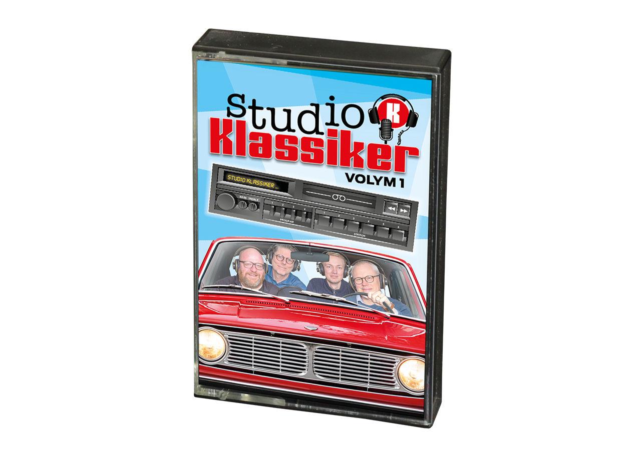 Studio Klassiker släpper sin podcast på kassettband
