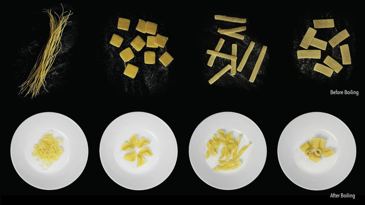Forskare tar fram platta pastasorter