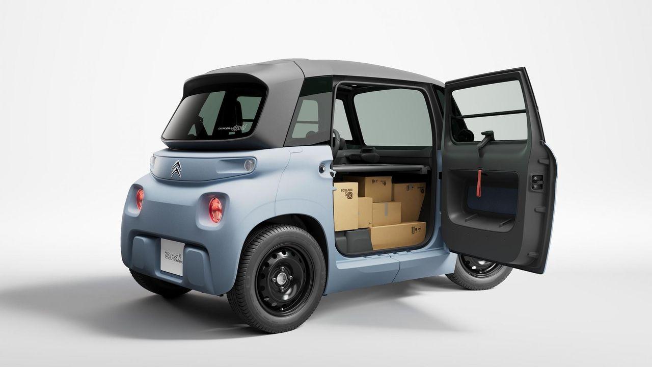 Citroën lanserar fraktversion av sin elbil Ami