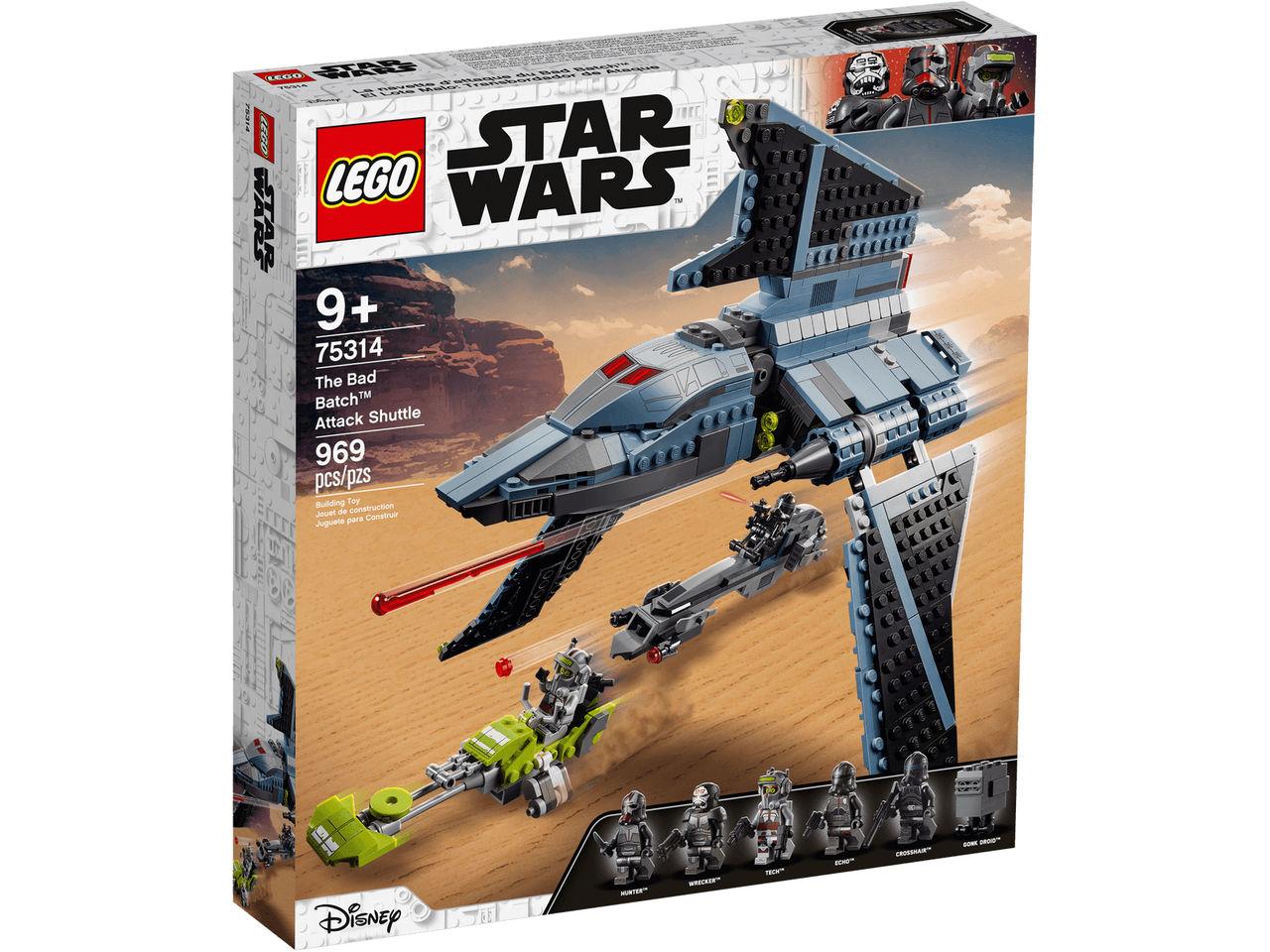LEGO släpper bygge från Star Wars: Uslingarna