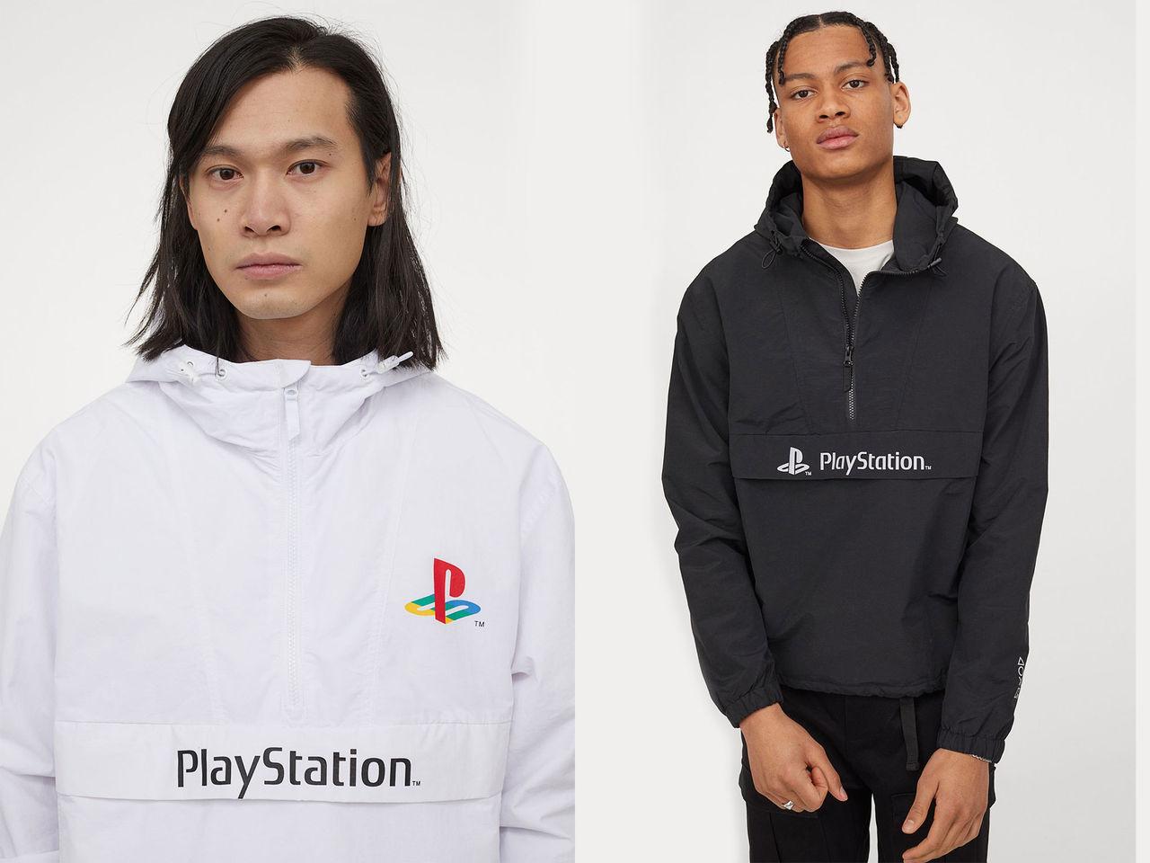 H&M säljer vindjacka för Playstation-spelaren