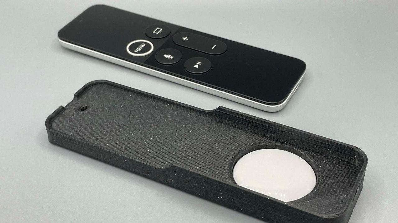 Nu finns fodral till Apple TV Remote med plats för AirTag
