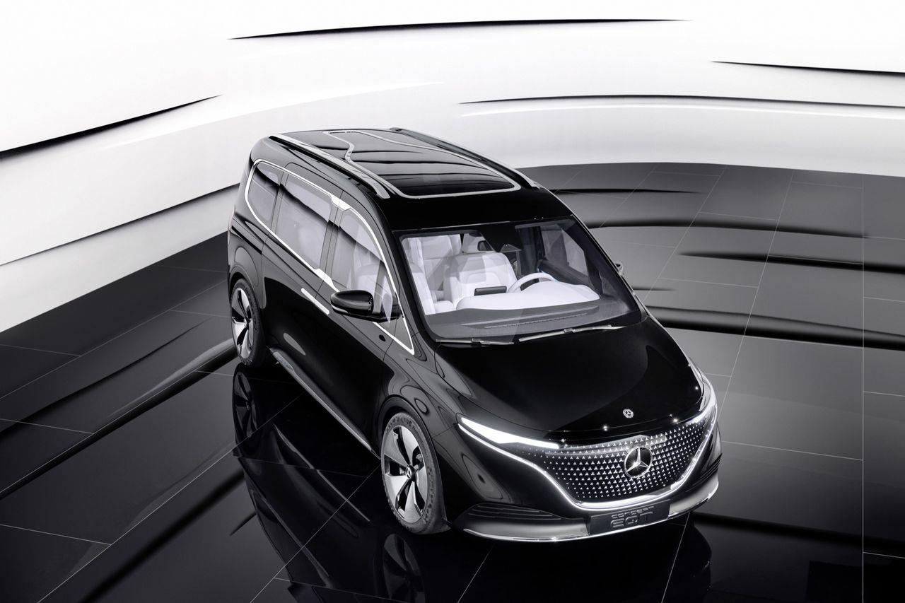 Mercedes visar konceptet EQT