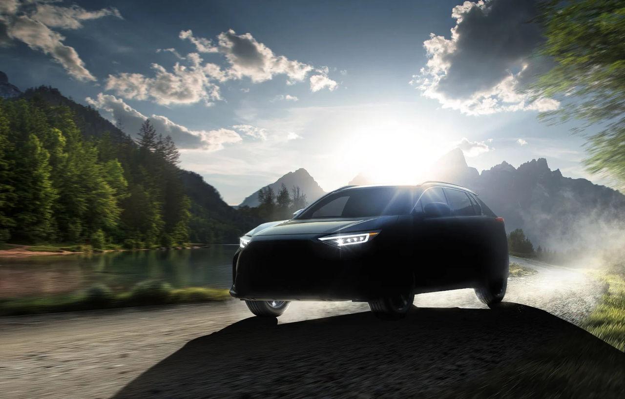 Subaru presenterar Solterra EV