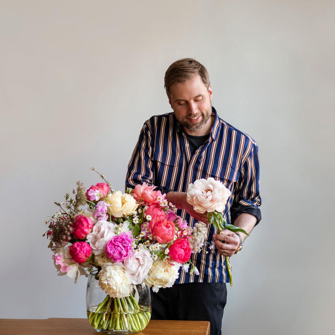 Interflora lanserar Mästerflorist
