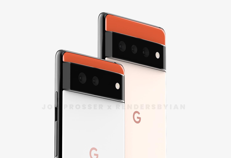 Ny bild visar hur Google Pixel 6 troligen kommer se ut