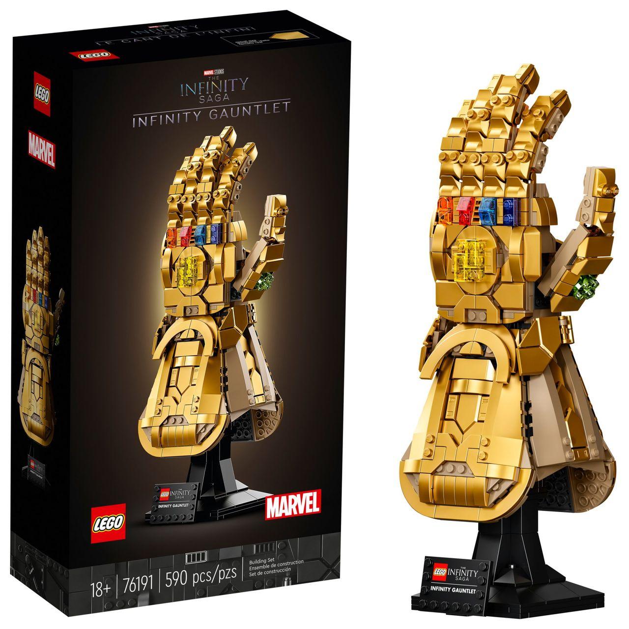 LEGO släpper Infinity Gauntlet-bygge