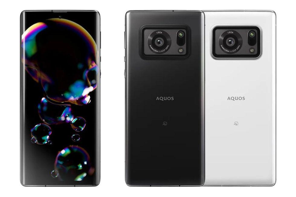 Sharps nya telefon har en ordentlig kamerasensor på 1 tum