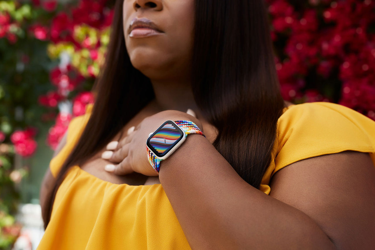 Det här är årets Pride-armband till Apple Watch
