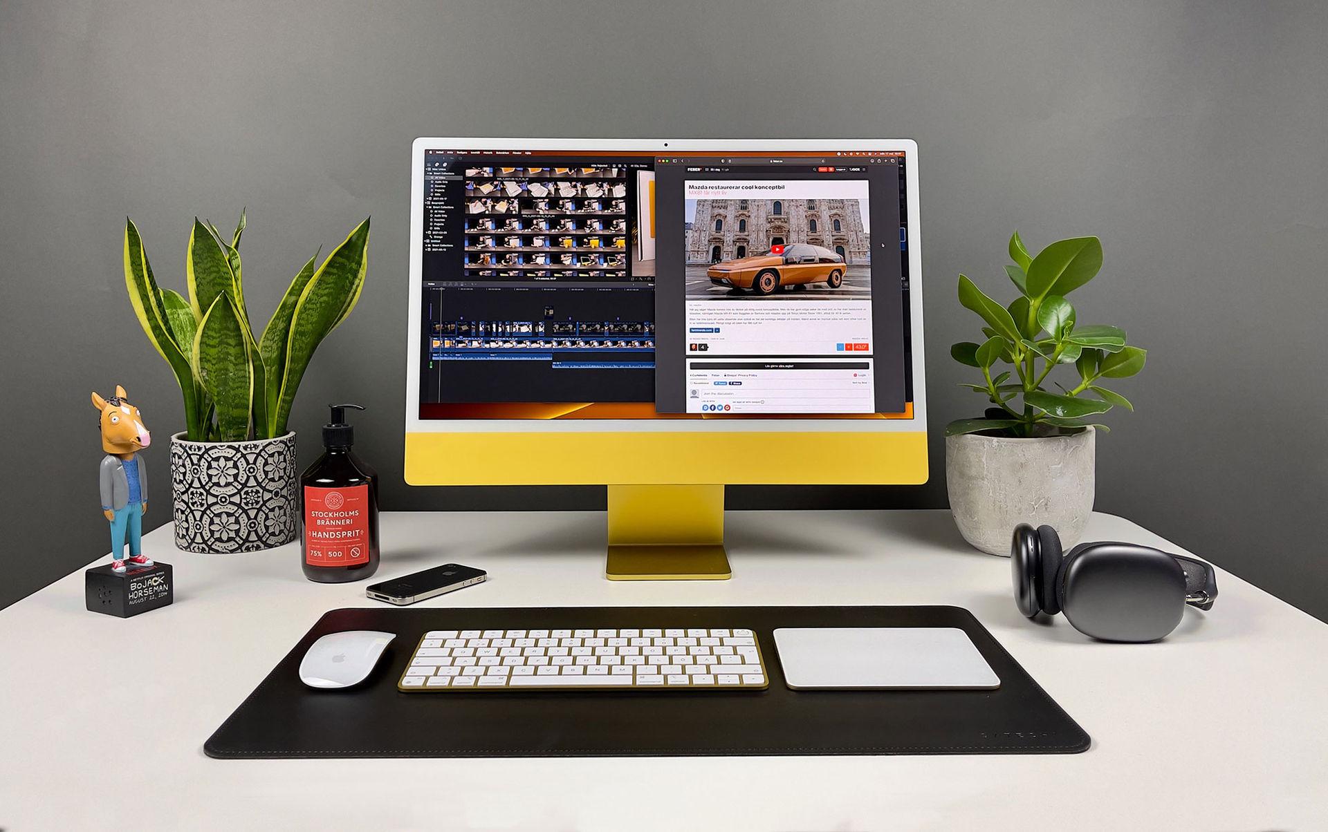 Nya iMac 24 tum är en färgglad fullträff