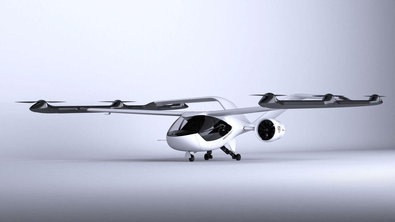 Volocopter visar upp VoloConnect