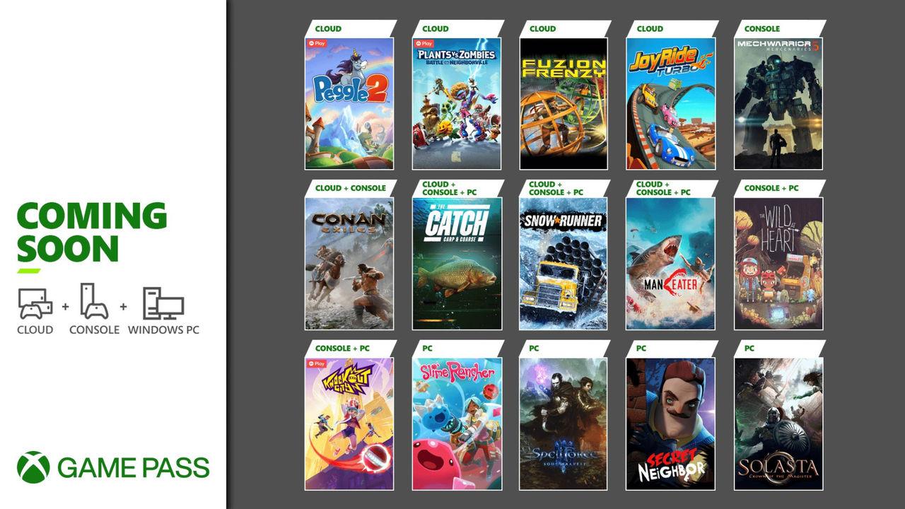 Microsoft listar nya titlar till Game Pass